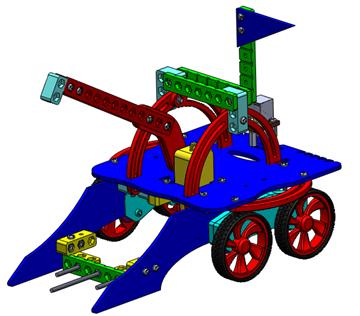 تصویری از روبات مبارز 2