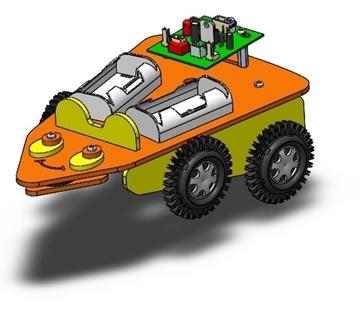 تصویری از روبات موشواره 2