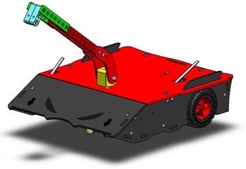 تصویری از روبات مبارز 3