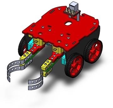 تصویری از روبات خدمتکار